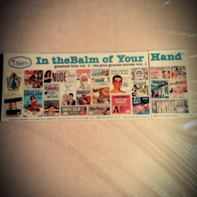 the Balm - In the Balm of Your Hand Greatest Hits Vol 1 Holiday Face Palette uploaded by Amy B.