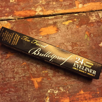 Photo of Too Faced Bulletproof 24 Hour Eyeliner uploaded by Kristy R.