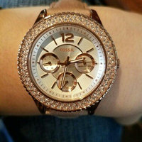 Fossil Women's Riley ES3466 Rose-Gold Leather Quartz Watch uploaded by Brooke H.