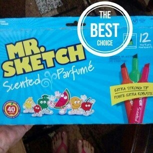 Mr. Sketch Scented Washable Markers uploaded by Mery H.