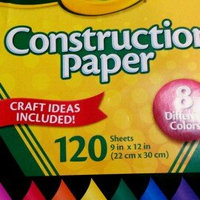 Crayola Construction Paper, 120 Sheets uploaded by Alysha S.