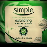 Simple Exfoliating Facial Wipes uploaded by Vanessa M.