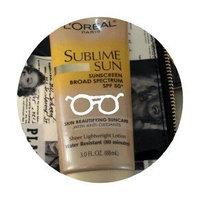 L'Oréal Paris Sublime Sun Advanced Sunscreen SPF 50+ Lotion uploaded by Amy M.