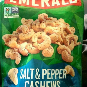 Photo of Emerald® Sea Salt & Pepper Cashews 1.25 oz. Bag uploaded by Melinda D.