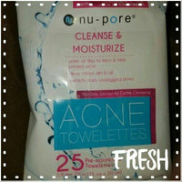 nu pore Nu-pore Acne Towelettes Moisturizing & Cleansing 30 Count in Each BOX (2 Pack) uploaded by Bernadette T.
