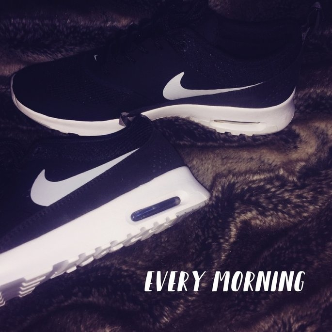 Nike Girls' Grade School Air Max Thea Running Shoes, Girl's, Black uploaded by Emma H.