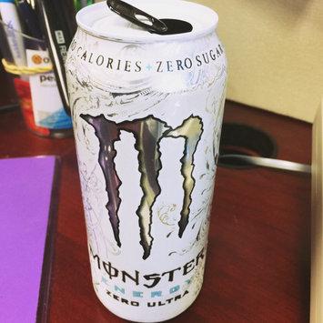 Monster Zero Ultra Energy Drink uploaded by Tiffany R.