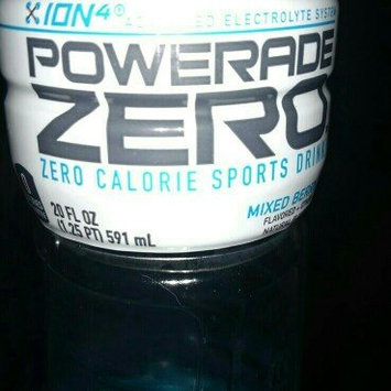 Photo of Powerade Zero Ion4 Mixed Berry Sports Drink - 8 CT uploaded by Cara G.