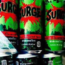 Photo of Surge­™ Citrus Flavored Soda 16 oz Can uploaded by Katherine M.