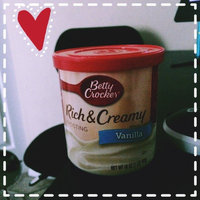 Betty Crocker™ Vanilla Rich & Creamy Frosting uploaded by Darriyen I.