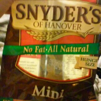 Photo of Snyder's Of Hanover Unsalted Mini Pretzels uploaded by Amanda D.