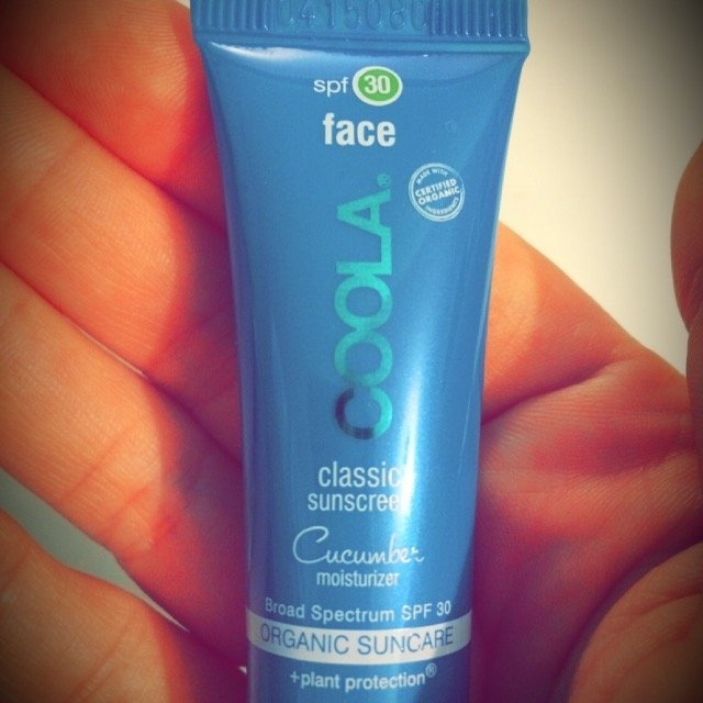 COOLA Moisturizing Face Sunscreen SPF 30, Cucumber uploaded by Ashley T.