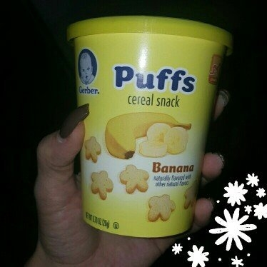 Gerber® Puffs Banana Cereal Snack 0.70 oz. Tub uploaded by Angelina A.