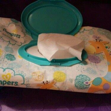 Pampers Sensitive Wipes Travel Pack, 56 ea uploaded by Stefanie K.