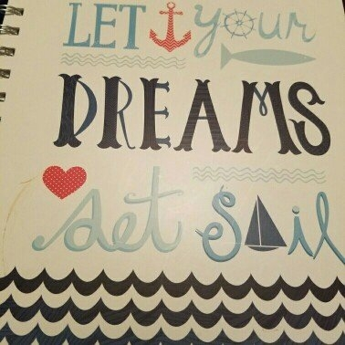 Class Act Stationery 3-Subject Fashion Notebook, Set Sail uploaded by Roxy S.