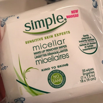 Photo of Simple® Micellar Makeup Remover Wipes uploaded by Stephanie G.