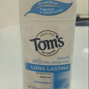 Tom's of Maine Long Lasting Unscented Deodorant, 2.25 oz uploaded by Carmen G.