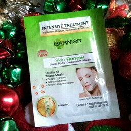 Garnier Skin Renew Dark Spot Treatment Mask - For Dark Spots and uploaded by Rin F.