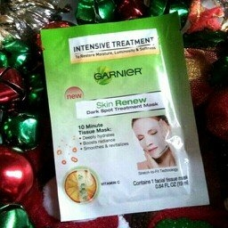 Garnier Skin Renew Dark Spot Treatment Mask - For Dark Spots and uploaded by Rin F.