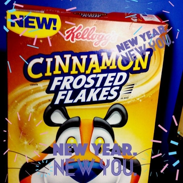 Kellogg's® Cinnamon Frosted Flakes™ of Corn 13.6 oz. Box uploaded by Daijah S.