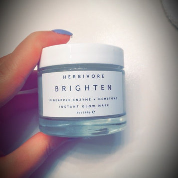 Herbivore Brighten Pineapple Enzyme + Gemstone Instant Glow Mask 2 oz uploaded by Chelsea P.