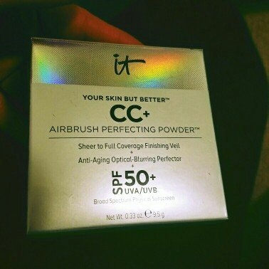 It Cosmetics Your Skin But Better CC+ Airbrush Perfecting Powder SPF50+ uploaded by Alissa W.