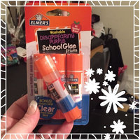 Borden Elmer's Washable School Glue Sticks, Disappearing Purple, 4/Pack uploaded by Jessica S.