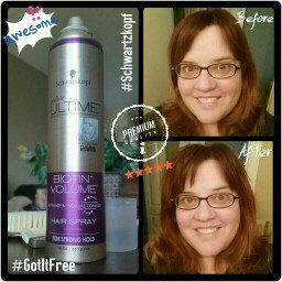 Photo of Schwarzkopf Styliste Ultime® Biotin+ Volume™ Hair Spray 10 oz. Aerosol Can uploaded by Tyra B.