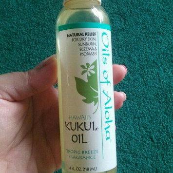 Photo of Oils Of Aloha Hawaii Kukui Nut Oil with Tropic Breeze Fragrance 4 oz uploaded by lisa i.