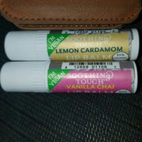 Soothing Touch Lip Balm Lemon Cardamom Vegan - 12 x 0.25 Oz, 2 Pack uploaded by Daly R.