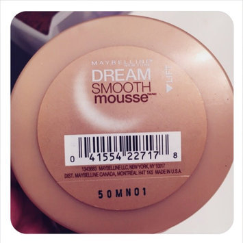 Maybelline Dream Smooth Mousse Foundation uploaded by Angela H.