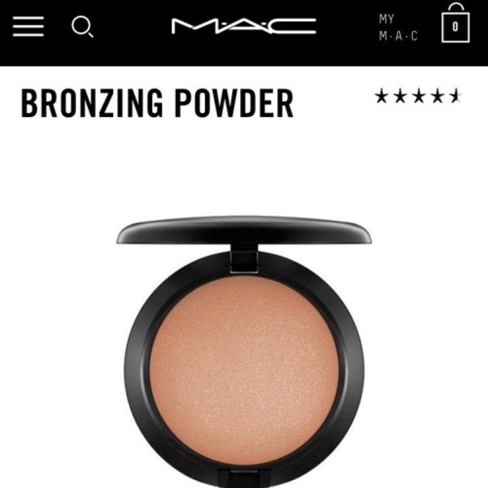 Mac Bronzing Powder uploaded by Lynn P.