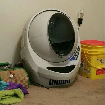 Litter Robot LRII Automatic Self-Cleaning Litter Box [Gray] uploaded by Laryn L.