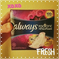 Infinity Always Radiant Overnight with wings scented Pads 11 count uploaded by Melissa S.
