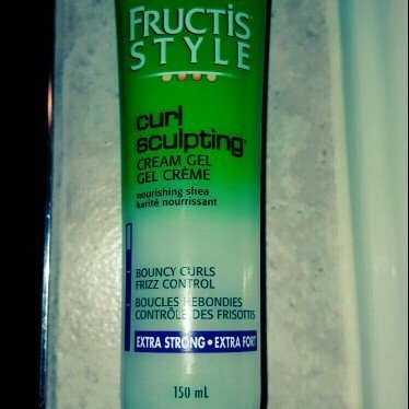 FRUCTIS STYLE® Curl Sculpting Cream Gel Extra Strong Hold 2 oz. uploaded by Ashley B.