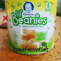Gerber® Lil' Beanies™ White Cheddar & Broccoli Bean & Rice Snack 1.59 oz. Canister uploaded by Jasmyne Z.