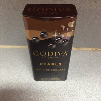 Photo of Godiva Dark Chocolate Mint Pearls, 1.5000-ounces (Pack of 6) uploaded by Kaily B.