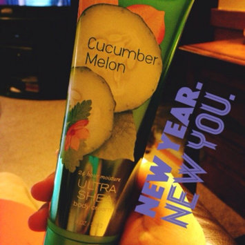 Photo of Bath & Body Works Signature Collection Cucumber Melon Body Lotion uploaded by Sarah N.