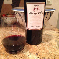 Menage a Trois California Red Wine uploaded by Christie S.