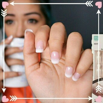 Kiss Everlasting French Pearl French Tip Nails Real Short Length - 28 CT uploaded by Julyann M.