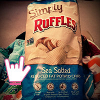 Ruffles® Simply Natural Sea Salted Reduced Fat Potato Chips uploaded by Leah Helen T.