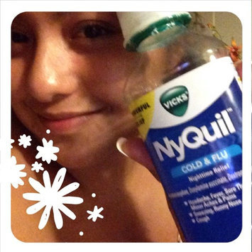 Photo of Vick's NyQuil Cold & Flu Relief Liquid  uploaded by Maribel L.