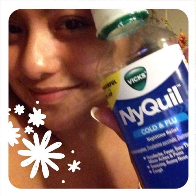 Vick's NyQuil Cold & Flu Relief Liquid  uploaded by Maribel L.