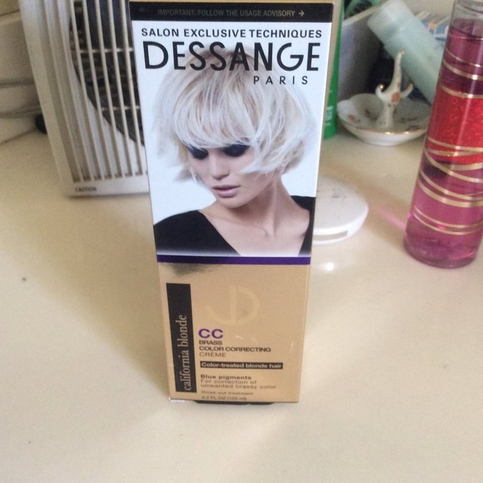 DESSANGE Paris California Blonde Brass Color Correcting Creme uploaded by Shawnee P.