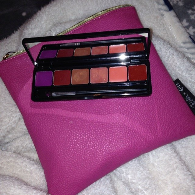 e.l.f. Cosmetics Exclusive Iris Beilin Mis Amores Lip Palette & Beauty Clutch uploaded by Destiny R.