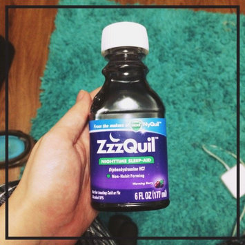 Photo of ZzzQuil™ Soothing Mango Berry Alcohol Free Liquid uploaded by Jillian S.