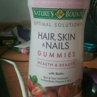 Nature's Bounty Optimal Solutions Hair, Skin and Nails Gummies - 220 Count uploaded by Caitlyn E.