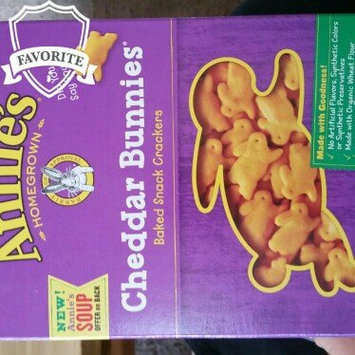 Annie's Homegrown® Organic Cheddar Bunnies® Baked Snack Crackers uploaded by Mary A.