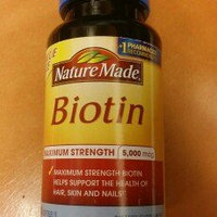Nature Made Biotin 5000 mcg Softgels - 120 Count uploaded by Luci F.