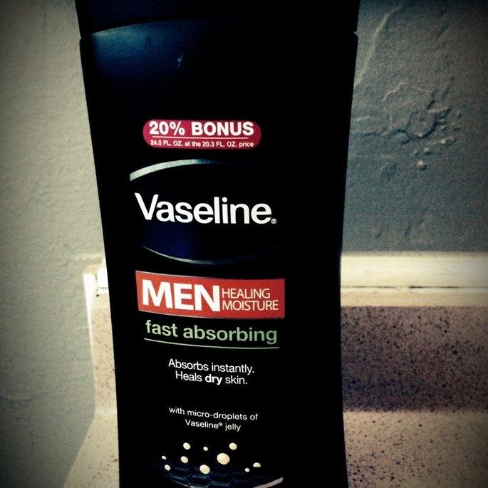 Vaseline Men Healing Moisture Fast Absorbing Body & Face Lotion uploaded by Talissa G.